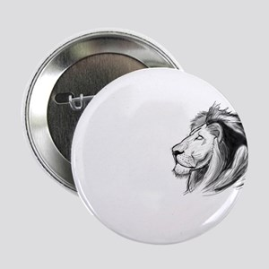 """Ghostly Lion 2.25"""" Button"""
