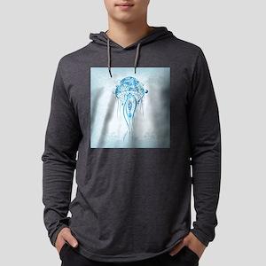 Jellyfish Mens Hooded Shirt