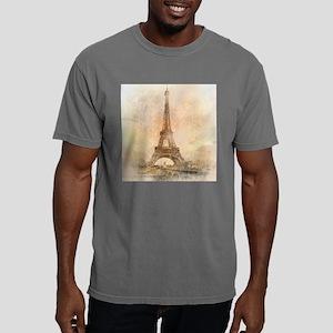 Vintage Paris Mens Comfort Colors Shirt