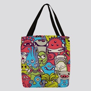 Monsters and Aliens Polyester Tote Bag