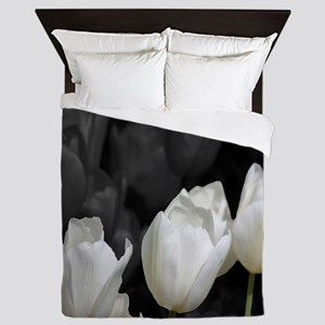 White Tulip Queen Duvet