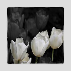 White Tulip Queen Duvet