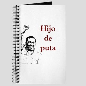Hugo Chavez Son of a Bitch Journal