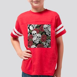 Skulls and Roses Youth Football Shirt