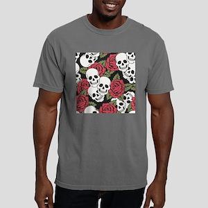 Skulls and Roses Mens Comfort Colors Shirt