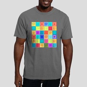 Colorful Retro Mens Comfort Colors Shirt