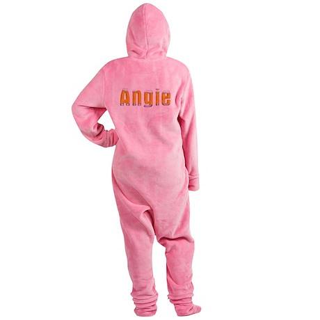 Angie Beer Footed Pajamas