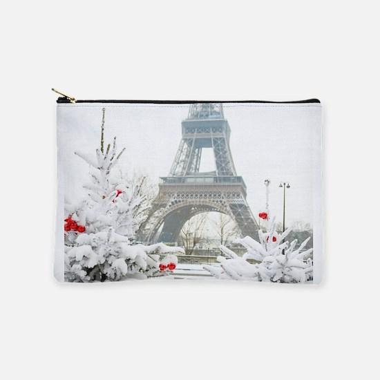 Winter in Paris Makeup Pouch