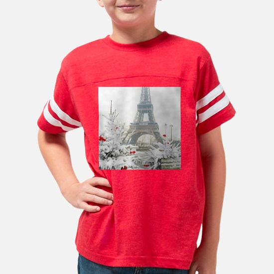 Winter in Paris Youth Football Shirt