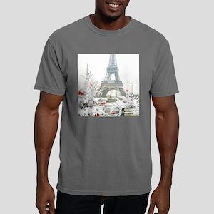 Winter in Paris Mens Comfort Colors Shirt