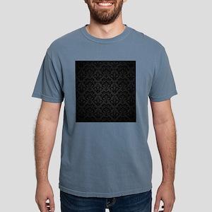 Elegant Black Mens Comfort Colors Shirt