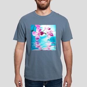 Beautiful Orchids Mens Comfort Colors Shirt