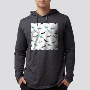 Dragonfly Mens Hooded Shirt