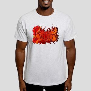 Katniss Everdeen the Name on Fire! Light T-Shirt