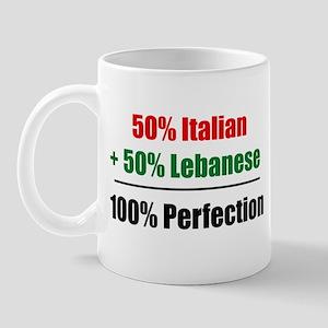 Half Italian, Half Lebanese Mug