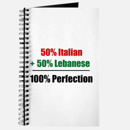 Half Italian, Half Lebanese Journal