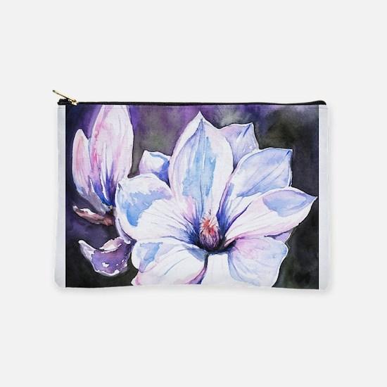 Magnolia Painting Makeup Pouch
