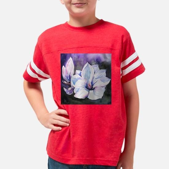 Magnolia Painting Youth Football Shirt