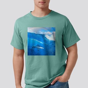 Underwater Shark Mens Comfort Colors Shirt