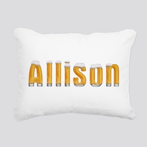 Allison Beer Rectangular Canvas Pillow
