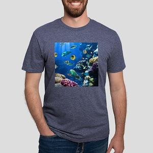 Sea Life Mens Tri-blend T-Shirt