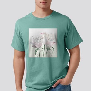 Beautiful Peony Mens Comfort Colors Shirt