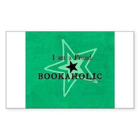 Bookaholic Sticker (Rectangle)