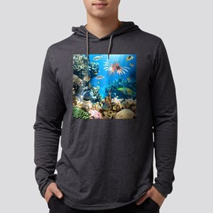 Tropical Fish Mens Hooded Shirt