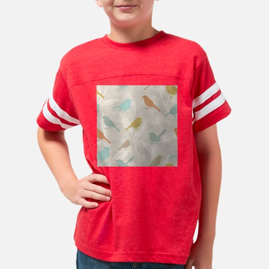 Pretty Birds Youth Football Shirt
