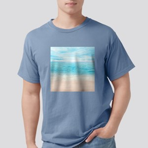 White Sand Beach Mens Comfort Colors Shirt