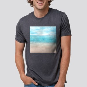 White Sand Beach Mens Tri-blend T-Shirt