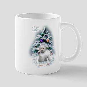 Bichon Frise Christmas 11 oz Ceramic Mug