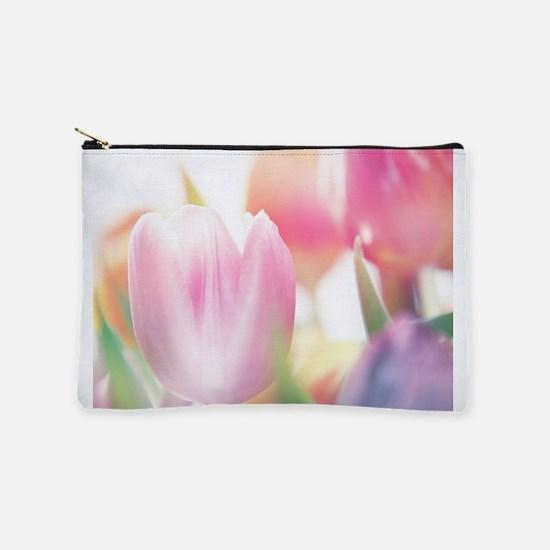 Beautiful Tulips Makeup Pouch