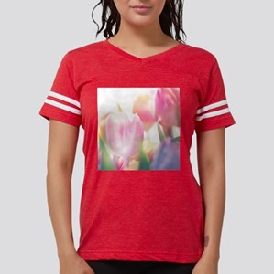 Beautiful Tulips Womens Football Shirt