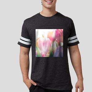 Beautiful Tulips Mens Football Shirt