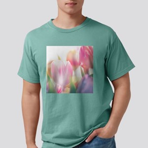 Beautiful Tulips Mens Comfort Colors Shirt