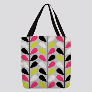 Retro Pattern Polyester Tote Bag