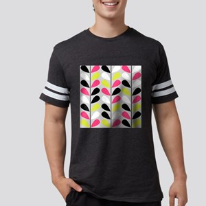 Retro Pattern Mens Football Shirt