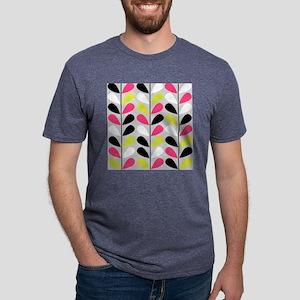 Retro Pattern Mens Tri-blend T-Shirt