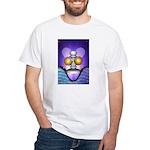 Temperance White Tarot T-Shirt