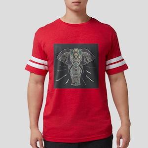Indian Elephant Mens Football Shirt