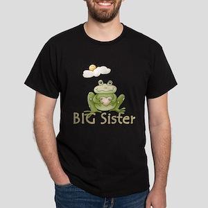 Big Sister Frog Dark T-Shirt