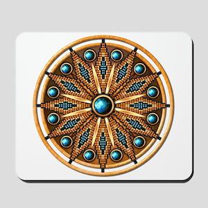 Native American Rosette 15 Mousepad