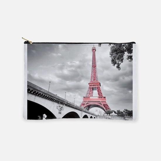 Pink Eiffel Tower Makeup Pouch
