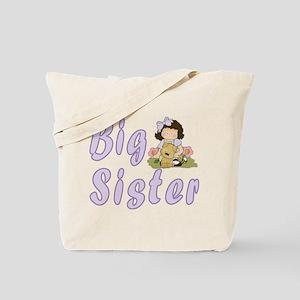 Big Sister Little Friends 4 Tote Bag