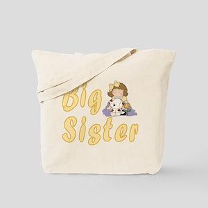 Big Sister Little Friends 2 Tote Bag