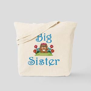 Big Sister Fluffy Pup 5 Tote Bag