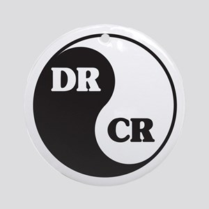 Zen Accountant Ornament (Round)