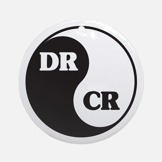 Zen Accountant Ornament (Round)