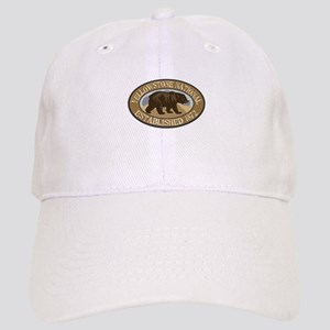 Yellowstone Brown Bear Badge Cap